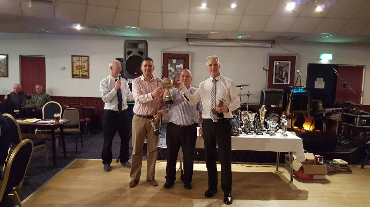 Mark Jones & Vance Bourne winners of the Pairs Credit Union Cup