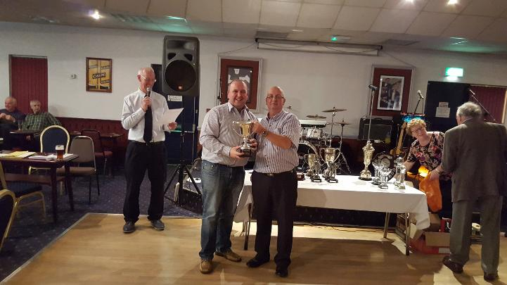Winner of the Captains Cup - Dave Logue
