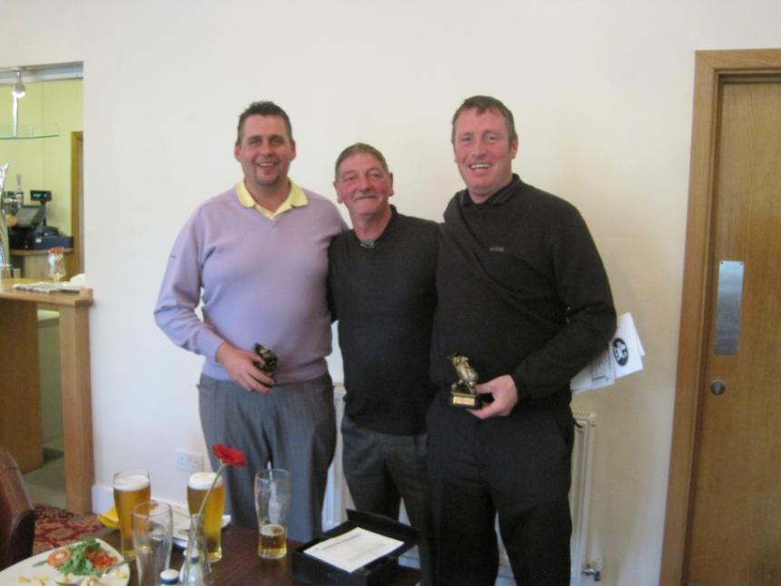 Pairs Winners on Sat - Billly & Mark